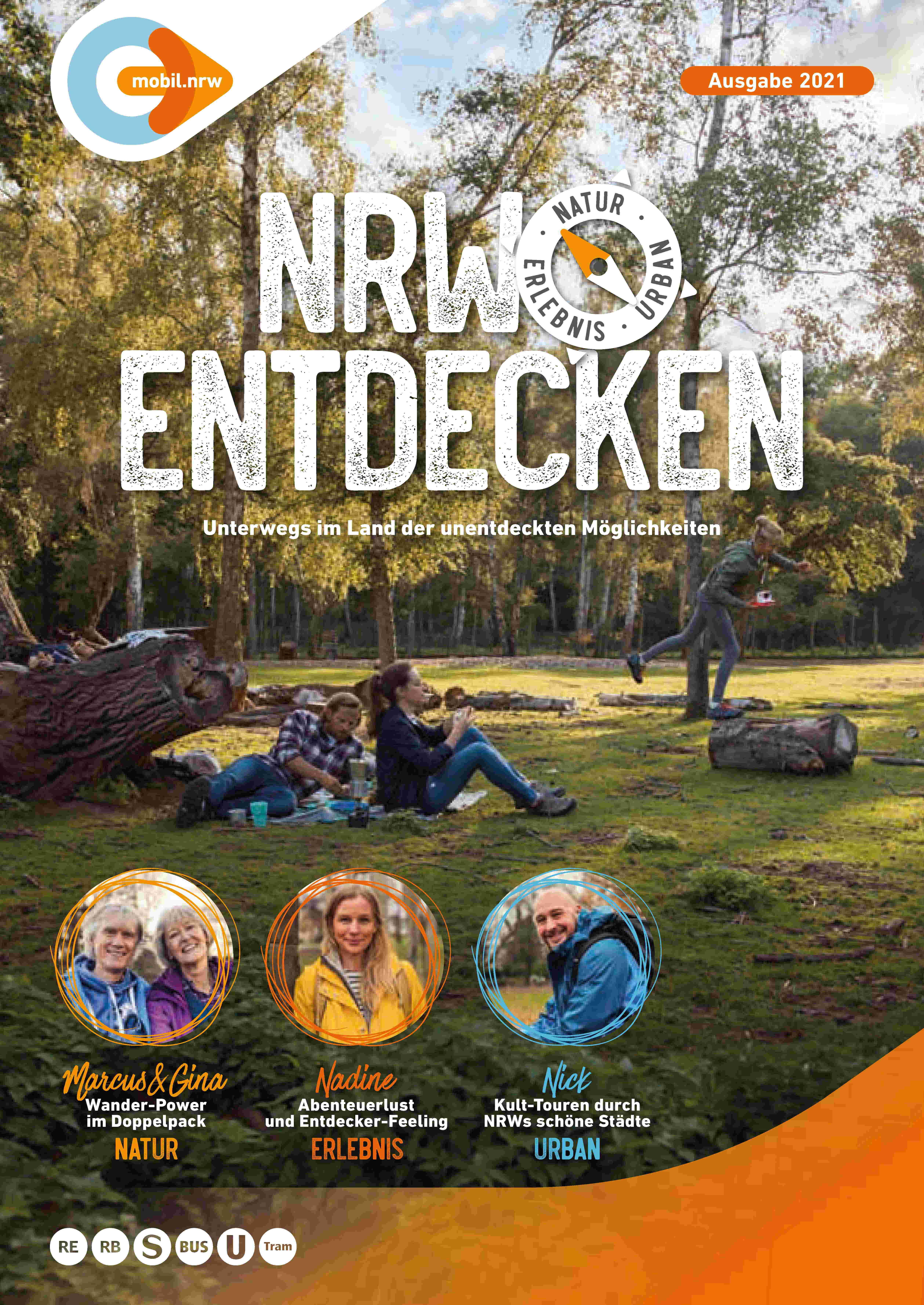 NRW entdecken - Wanderfolder 2021