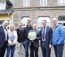 Overath ist NRW-Wanderbahnhof des Jahres 2019