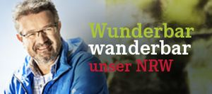 Banner Wunderbar wanderbar mit Manuel Andrack